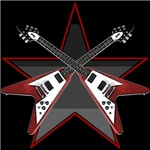 STAR GIBSON FLYING V T-Shirts