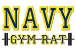US NAVY GYM RAT T-SHIRTS