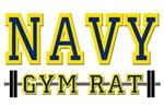 US NAVY GYM RAT T-SHIRTS