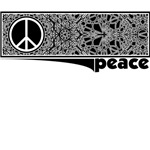 Mandala Fragment Peace Design