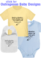 Naughty & Outrageous Baby Clothing