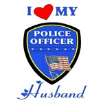 I Love My Police Husband For the wife of police officers