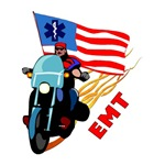 EMT Biker Motorcycle T-Shirts & Gifts