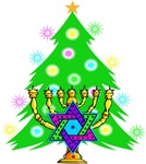 Hanukkah and Christmas Interfaith Family
