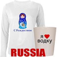 Russia t-shirts and Russian gifts