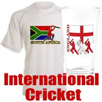 Cricket Around the World  T-shirts and Gifts