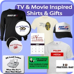 TV/Movie Inspired Shirts And Gifts
