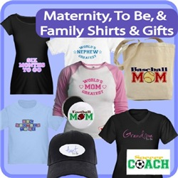 Maternity, To-Be, & Family Shirts And Gifts