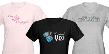 Engagement Shirts And Gifts