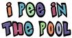 Pee in the Pool