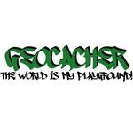 Geocacher, The World is My Playground