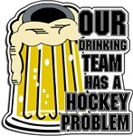 Hockey Drinking Team T-Shirts Gifts