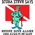 SCUBA Steve T-Shirt & Gifts