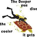 Scuba Diving T-Shirt & Gifts