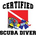 Certified SCUBA Diver T-Shirt & Gifts