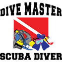 Dive Master SCUBA T-Shirt & Gifts