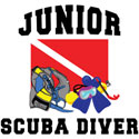 Junior SCUBA Diver T-Shirt & Gifts