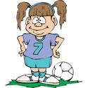 Girl Soccer T-Shirt & Gifts