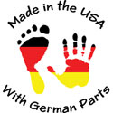German Parts T-Shirt & Gifts