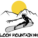 Loon Mountain Snowboarding T-Shirt Gifts