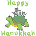 Happy Hanukkah Kids T-Shirt Design