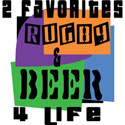 Rugby & Beer T-Shirt