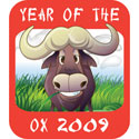 Year of The Ox T-Shirt 2009 Ox T-Shirts