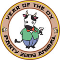 Year of The Ox Party Animal T-Shirt