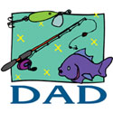 Fishing DAD T-Shirts and Gifts