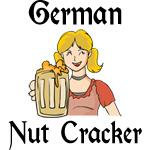 Funny German Nut Cracker Women's T-Shirts