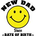 New Dad Since (Add Date of Birth) T-Shirts Gifts