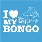 I Love My Bongo - Blue