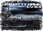 Aircraft carrier Kitty Hawk