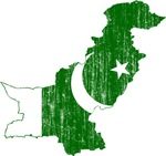 Pakistan Flag And Map