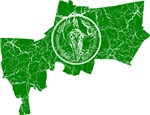 Bangkok Flag And Map