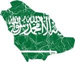 Saudi Arabia Flag And Map