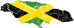 Jamaica Flag And Map