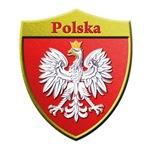 Poland Metallic Shield