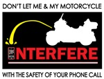 Motorcycles & cell phones