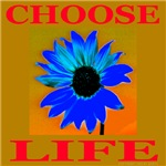 Choose Life Blue-Gold