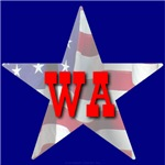 WA Patriotic State Star