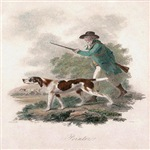 Pointer with Hunter James Tookey 1805 Digitally Re