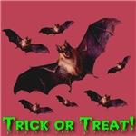 Trick or Treat Bat Swarm Variation 2