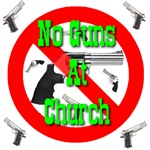 No Guns Allowed At Church