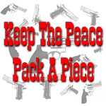 Keep The Peace Pack A Piece