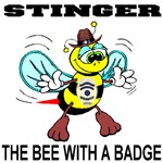 Stinger The Bee With A Badge