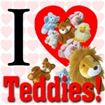 I Love Teddies