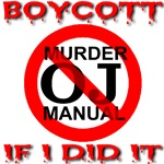 Boycott OJ Murder Manual If I Did It/Front & Back