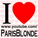 I Love ParisBlonde