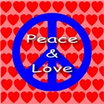 Peace & Love Symbol (Front & Back)